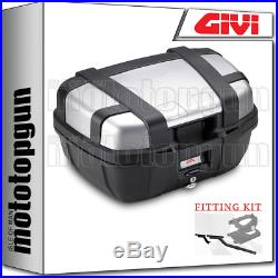 Givi Valise Top Case Monokey Trk52n Trekker For Honda Africa Twin 750 2002 02