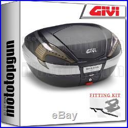 Givi Valise Top Case Monokey V56nnt Maxia-4 For Honda Africa Twin 750 1999 99