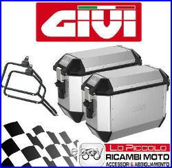 Givi Valises Latéral Alaska + Supports Honda CRF1100L Africa Twin Adv SPORTS