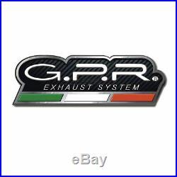 Gpr Pot Echappement Approuve + Tube Sa Honda Africa Twin 750 Rd07 Xrv 75 1994 94