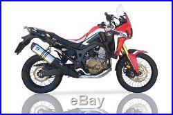 Honda Crf 1000 Africa Twin Silencieux Pot IXIL Inox