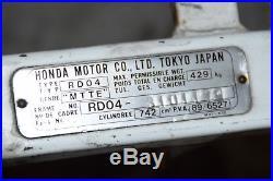 HONDA XRV 750 AFRICA TWIN RD04 bj. 91 Cadre avec papiers