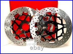 Honda 1000 Crf L Africa Twin 2018 Paire Disques Frein Avant Brembo Or