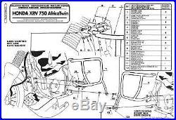 Honda Africa Twin 750 93 95 Pare-moteur Givi Tn362 Guard