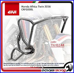 Honda CRF 1000 Africa Twin 16 Protections Coques GiVi Tubulaires Inox TNH1144