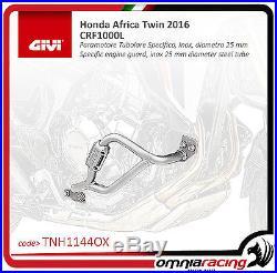 Honda CRF 1000 Africa Twin 2016 Pare-moteur GiVi Tubulaire Inox TN1144OX
