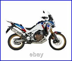 Honda Crf 1100 L Africa Twin / Adventure Sports 20/21 Silencieux Titane Akra