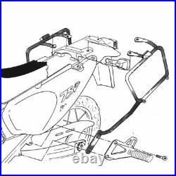 KAPPA KL148 Frames Pour Valises Monokey Honda 750 XRV Africa Twin 1993-2002