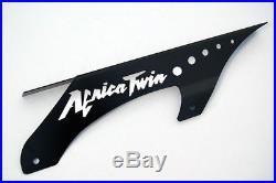 Kettenschutz Honda Africa Twin XRV 650 750 Black Schrift