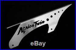 Kettenschutz Honda Africa Twin XRV 650 750 Schrift