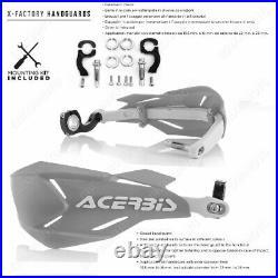 Kit Adapteurs + Protege-mains X-factory Noir Honda Africa Twin Crf 1000l 16/18
