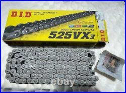 Kit Chaîne DID525VX3 Pour Honda XRV 750 Africa Twin, RD07, 16-45-124