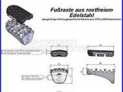 Kit De Repose-pieds Pour Honda Xrv 750 Africa Twin (1989-2003)