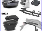 Kit Shad Valise Sh48 + Valises 3p Sh23 Honda Africa Twin Crf1000l