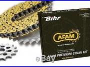 Kit chaine AFAM HONDA XRV750 AFRICA TWIN (Pas de 525 type XRR)