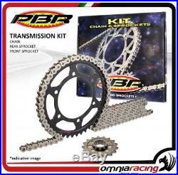 Kit chaine + couronne + pignon PBR EK Honda XRV750 AFRICA TWIN RD04 19901992