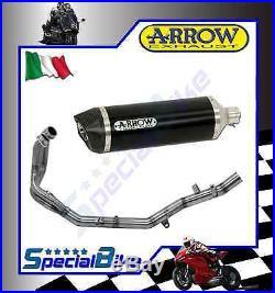 Ligne Complète Honda Crf 1000 L Africa Twin 2016 Arrow Maxi Race Tech Dark