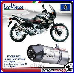 Leovince LV ONE Pot D'Echappement acier Honda XRV 750 Africa Twin 19952005