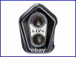 Leovince Lv-12 Steel Silencer Honda Crf 1100 L Africa Twin / Adv Sport/ Dct 2020