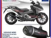 Leovince Nero Echappement acier approuve Honda CRF1000L AFRICA TWIN ABS 1617