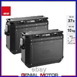 Les valises Lateral Givi TREKKER OUTBACK 37lt HONDA CRF AFRICA TWIN ADV 2020 05S