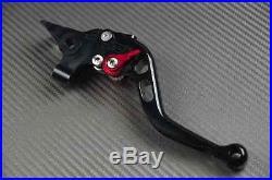 Levier leviers levers court short CNC black noir Honda Africa TWIN 750 XRV ALL