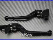 Levier leviers levers long CNC FULL black noir Honda Africa TWIN 750 XRV Toutes