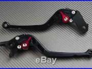 Levier leviers levers long CNC noir black Honda Africa TWIN 750 XRV Toutes