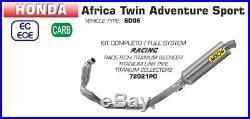 Ligne Complete Arrow Honda Africa Twin Adventure Sport 2018 72021po