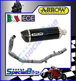 Ligne Complète Honda Crf 1000 L Africa Twin 2016 Arrow Maxi Race Tech Dark C