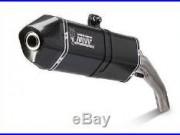 MIVV Speed Edge Slip-on Steel Black Honda CRF1000L Africa Twin