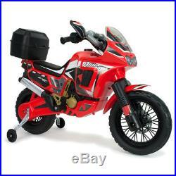 Moto électrique Honda Africa Twin 6V rouge