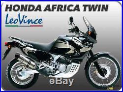 POT D'ÉCHAPPEMENT LEOVINCE LV UNE EVO INOX HONDA AFRICA TWIN 750 Ref. 8424E