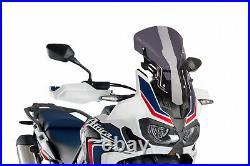 PUIG Pare-Brise Racing Honda CRF1000L Africa Twin 2016 Fumée Sombre