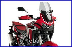 PUIG Pare-Brise Touring Honda CRF1100L Africa Twin 20-21 Fumée Clair