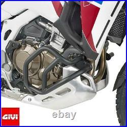 Paramoteur Tubulaire 25 MM Noir GIVI TN1178 Spécifique pour Honda Africa Twin