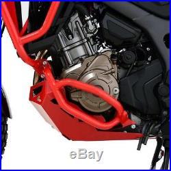 Pare carter Honda Africa Twin CRF 1000 L 16-17 part en bas rouge Protège Moteur