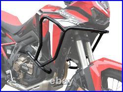 Pare carters Crash Bars Heed HONDA CRF 1100 Africa Twin Basic, noir