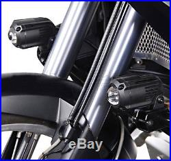 Phares Additionnels Set Honda Africa Twin XRV 750 90-03 SW-Motech Hawk noir