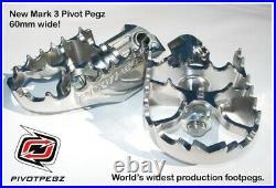 Pivot Pegz Gelenkfußrasten Mark3 Honda CRF1000L Africa Twin (2015-2017)