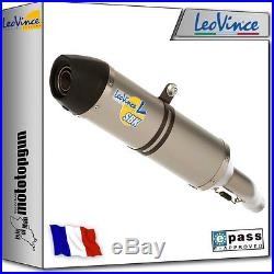 Pot D Echappement Leovince Lv-one Inox Honda Xrv 750 Africa-twin 2000 00 2001 01