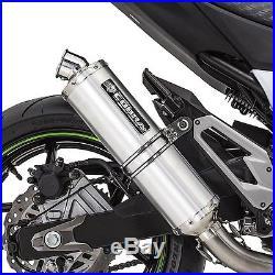 Pot d'echappement Honda Africa Twin XRV 650 88-89 Cobra C5 Slip on aluminium