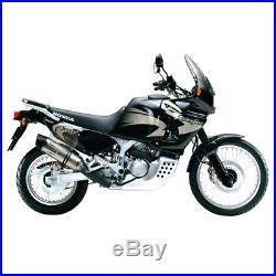 Pour Honda Africa Twin Xrv 750 1999 99 Pot D'échappement Leovince LV One Evo Sil
