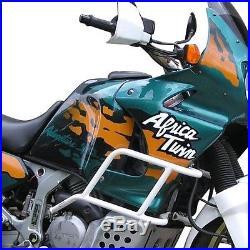 Protège Réservoir Bagster Honda Africa Twin XRV 750 1995 vert/eucalyptus/havane