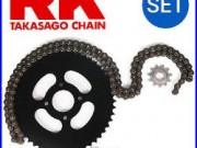 RK Kit chaîne Honda XRV 750 Africa Twin 1993-2003
