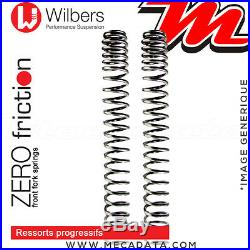 Ressorts de Fourche Wilbers HONDA XRV 750 Africa Twin 1994 Prog. Zero Friction