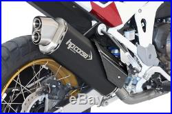 SILENCIEUX HP CORSE 4-TRACK R BLACK euro5 HONDA AFRICA TWIN 1100 2020