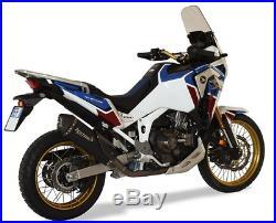 SILENCIEUX HP CORSE SPS CARBON BLACK euro5 HONDA AFRICA TWIN 1100 2020