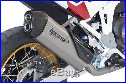 SILENCIEUX HP CORSE SPS CARBON SATIN euro5 HONDA AFRICA TWIN 1100 2020