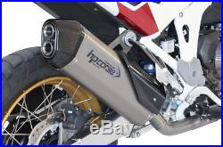 SILENCIEUX HP CORSE SPS CARBON TITANIUM euro5 HONDA AFRICA TWIN 1100 2020
